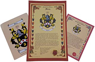 Phillips Family Crest and Coat of Arms with History and Legacy Heirloom English Origin