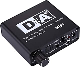 Miss flora Optical series .NK-C6 Digital to Analog Audio HiFi Headphone Amplifier with Toslink/Coaxial