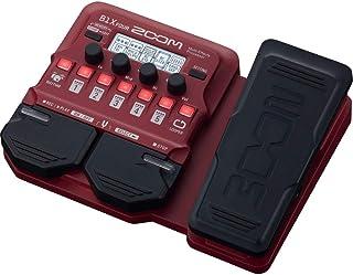 معالج Zoom B1X 4UR Bass متعدد التأثيرات مع دواسة تعبير، مع أكثر من 70 تأثيرات مدمجة، ونموذج أمبير، وقسم الإيقام، موعد، طاق...