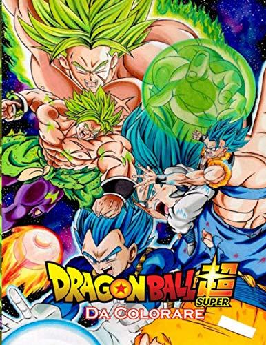 dragon ball super Da Colorare: 50 pagine da colorare di alta qualità per bambini, ragazzi e adulti   Dragon Ball Super, Dragon Ball GT, Dragon ... Ball Coloring Book, libro da colorare otaku