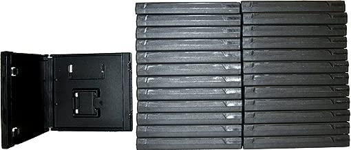 (25) Standard Black Nintendo DS Empty Replacement Game Cases Boxes VGBR14DSBK