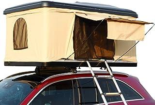 Hewflitルーフテント 車上テント カールーフテント キャンピング 車用 車上泊 はしご付き 防水 折りたたみ 可 [並行輸入品]