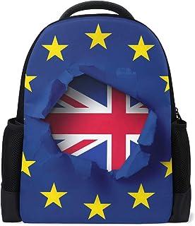 Malplena mochila senderismo Brexit Inglaterra Bolsa de viaje Bolsa de escuela