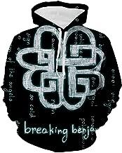 Break-ing Logo Ben-jam Womens Sweatshirt Fashion 3D Printed Hoodies Pullover Sweaters Hooded Casual
