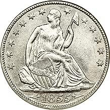 1855 o half dollar