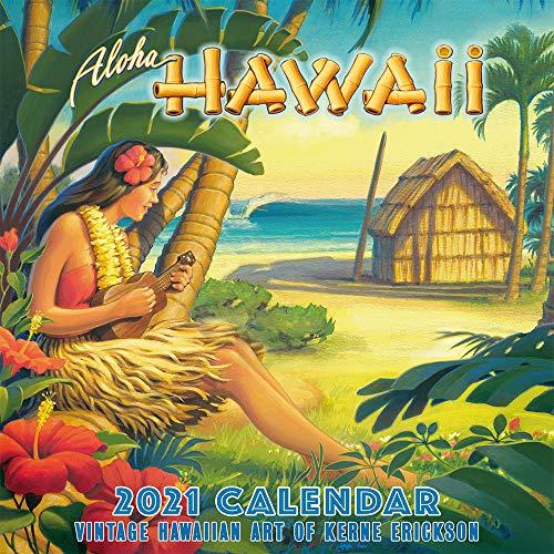 Pacifica Island Art Hawaii 2021 Wall Calendar Aloha Hawaii by Kerne Erickson