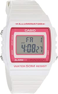 Casio W-215H-7A2V Digital Quartz Resin Casual Watch for Women