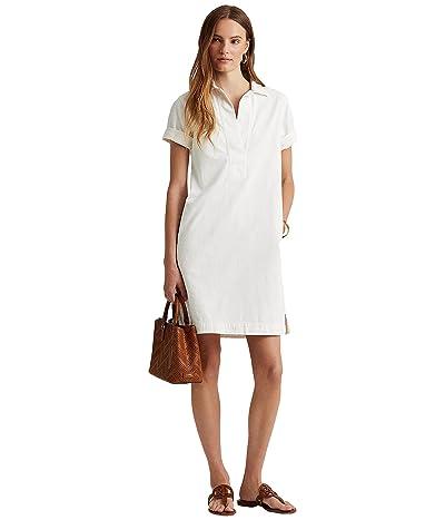 LAUREN Ralph Lauren Cotton Twill Shift Dress