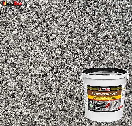 Buntsteinputz Mosaikputz BP20 (weiss, grau, schwarz) 25kg Absolute ProfiQualität