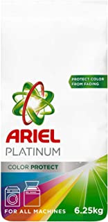 Ariel Platinum Automatic Color Protect Laundry Powder Detergent, 6.25kg