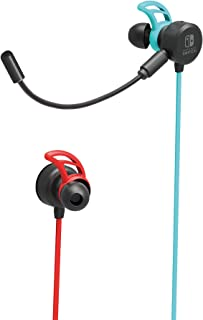Hori - Auriculares Switch Azul/Rojo Neón (Nintendo Switch)