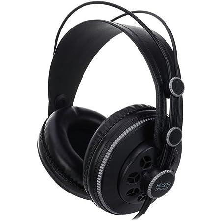 Superlux セミ・オープン型プロフェッショナルモニターヘッドフォン HD681B