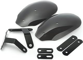 Alamor Motorrad Hand Protektoren Lenker Protektoren Protektor Für Harley XL 883 1200 Dyna Road King Schwarz