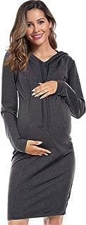 Maternity Dress Women's Maternity Nursing Breastfeeding...