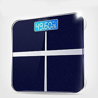 B/H Báscula Inteligente,Balanza de precisión-Zafiro Azul_Modelos de batería,Escala Inteligente de Grasa Corporal,