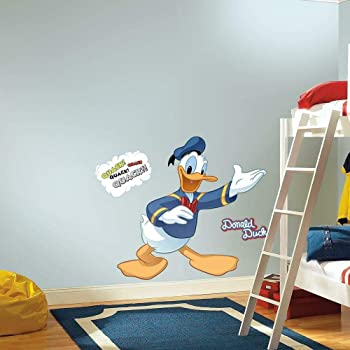 RoomMates RMK1512GM  Disney Donald Duck Peel and Stick Giant Wall Decal
