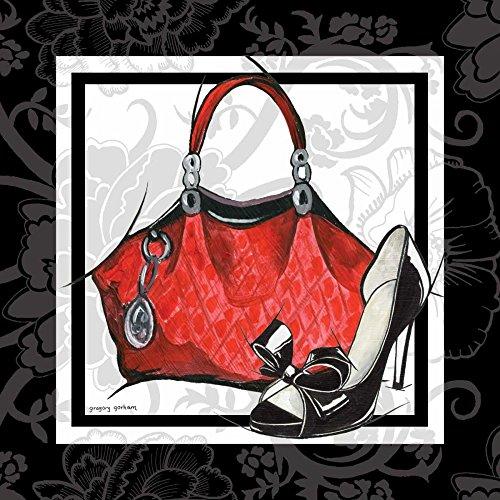 AFDRUKKEN-op-GEROLDE-CANVAS-Beurs-en-Shoe-I-Gorham-Gregory-Mode-Afbeelding-gedruckt-op-canvas-100%-katoen-Opgerolde-canvas-print-Kunstdruk-op-gerold-canvas-Afmeting-42_X_42_cm