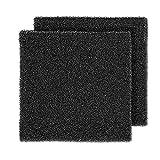 GUARDMAN Filter Foam Sponges, Bio Sponge Filter Media Pad Cut-to-Size Foam for Aquarium Fish Tank Pond Filter Open Cell Foam Sheet Filter Cartridge Media Sponge