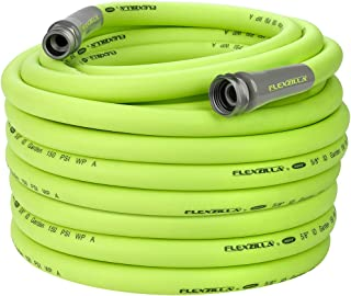 Flexzilla Garden Hose, 5/8 in. x 100 ft., Heavy Duty, Lightweight, Drinking Water Safe - HFZG5100YW