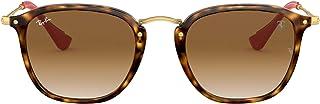 Ray-Ban RB2448NM Scuderia Ferrari Collection Square Sunglasses