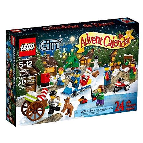 LEGO 60063 City Adventskalender