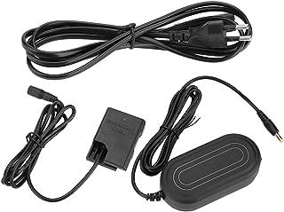 Topiky Adaptador de Corriente del acoplador de CC de batería simulada EN-EL14 para Nikon D5600 D5500 DC5300 D5500 D5600 D3100 D3200 D3300 D3400(Enchufe Negro-UE)