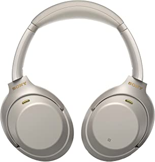 Sony WH-1000XM3 Wireless Industry Leading Noise Cancellation Headphones with Alexa (Silver)