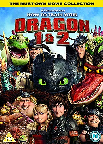 How To Train Your Dragon 1 & 2 Box Set (BD) [Blu-ray] [2018] [Region Free]
