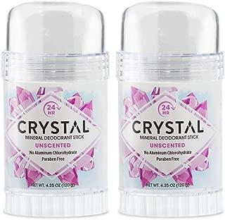 Crystal Deodorant Stick 4.25oz (2 Pack)