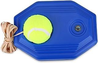 VGBEY Base de Tenis, Tennis Back Base Training Ball, Tennis Ball Trainer con una Cuerda Autoestudio Jugador de Rebote de Tenis,Base de Tenis con una Cuerda con Practicar con una Sola Persona