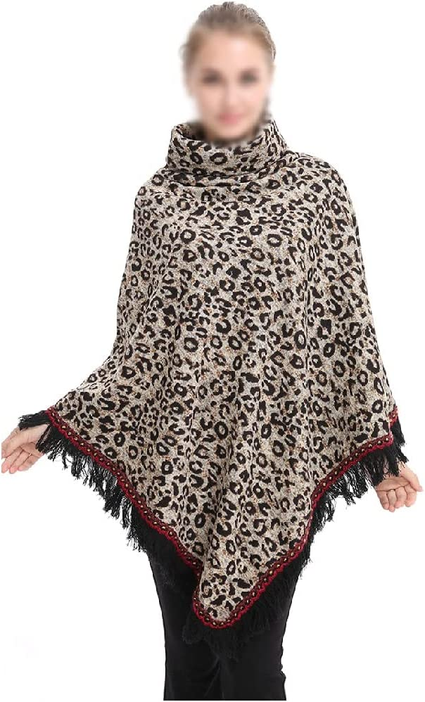 TJLSS Women Oversized Pullover Cloak Winter Poncho Selling rankings Shawl Knitted shopping