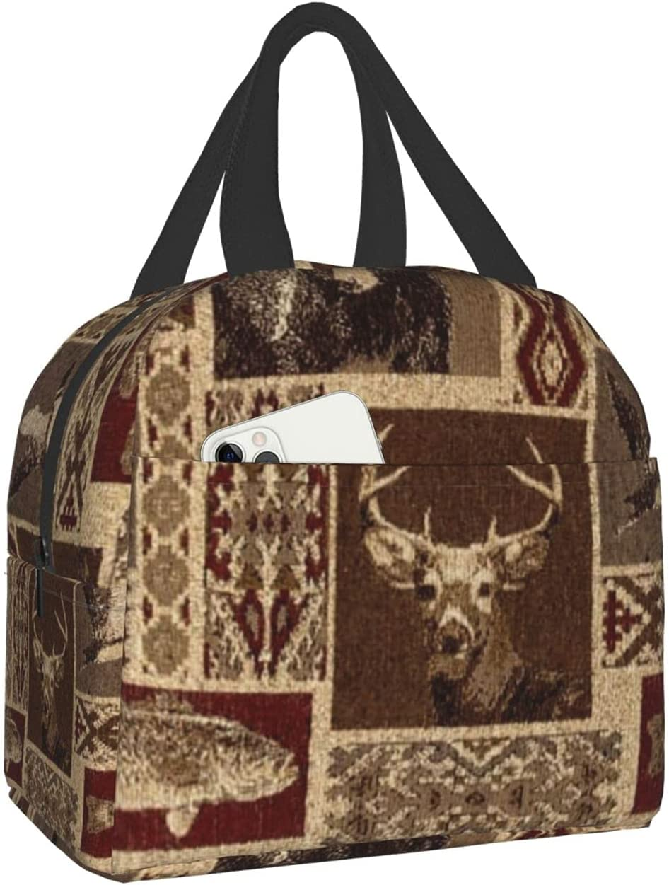 Moose OFFicial store Bear Max 85% OFF Deer Reusable Lunch Tote Bags Cooler Box For