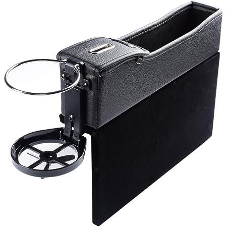 Sitz Organizer Auto Kinder Noir 2 Pcs Autositz Seitentaschen Organizer Seat Gap Filler Car Seat Storage Box f/ür Zus/ätzliche Lagerung Autositztasche Autositz Side Gap