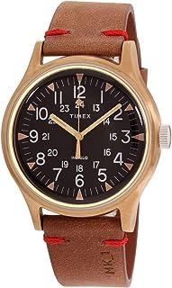 Timex MK1 Steel Quartz Movement Black Dial Men's Watch