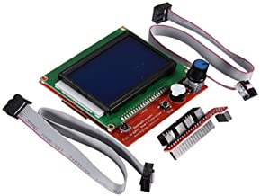 Solu ® Ramps1.4 Lcd12864 Intelligent Smart Controller LCD 12864 for Reprap 3d Printer// 3d Printer Ramps1.4 Lcd12864 Intelligent Smart Controller Lcd 12864// Ramps 1.4 Lcd 12864 Intelligent Smart Controller Display Support Sd Card