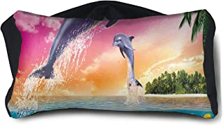 Eye Pillow Dolphins Beauty Personalized Womens Portable Blindfold Sleeping Eye Bag Bed