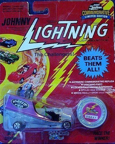 El nuevo outlet de marcas online. 1993 Johnny Lightning The The The Challengers  Commemorative Limited Edition púrpura MOVIN' VAN Collectible Car by Johnny Lightning  Mercancía de alta calidad y servicio conveniente y honesto.