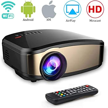 YAYY Mini proyector de vídeo 1080P HD portátil Vídeo Proyector ...