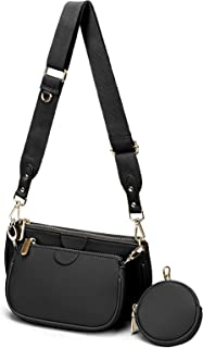 YALUXE Umhängetasche Damen Modische 5-in-1-Mehrzweck-Handtasche mit Kleine Tasche