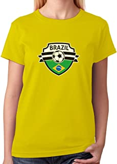 Tstars - Brazil Soccer Team Fans Women T-Shirt