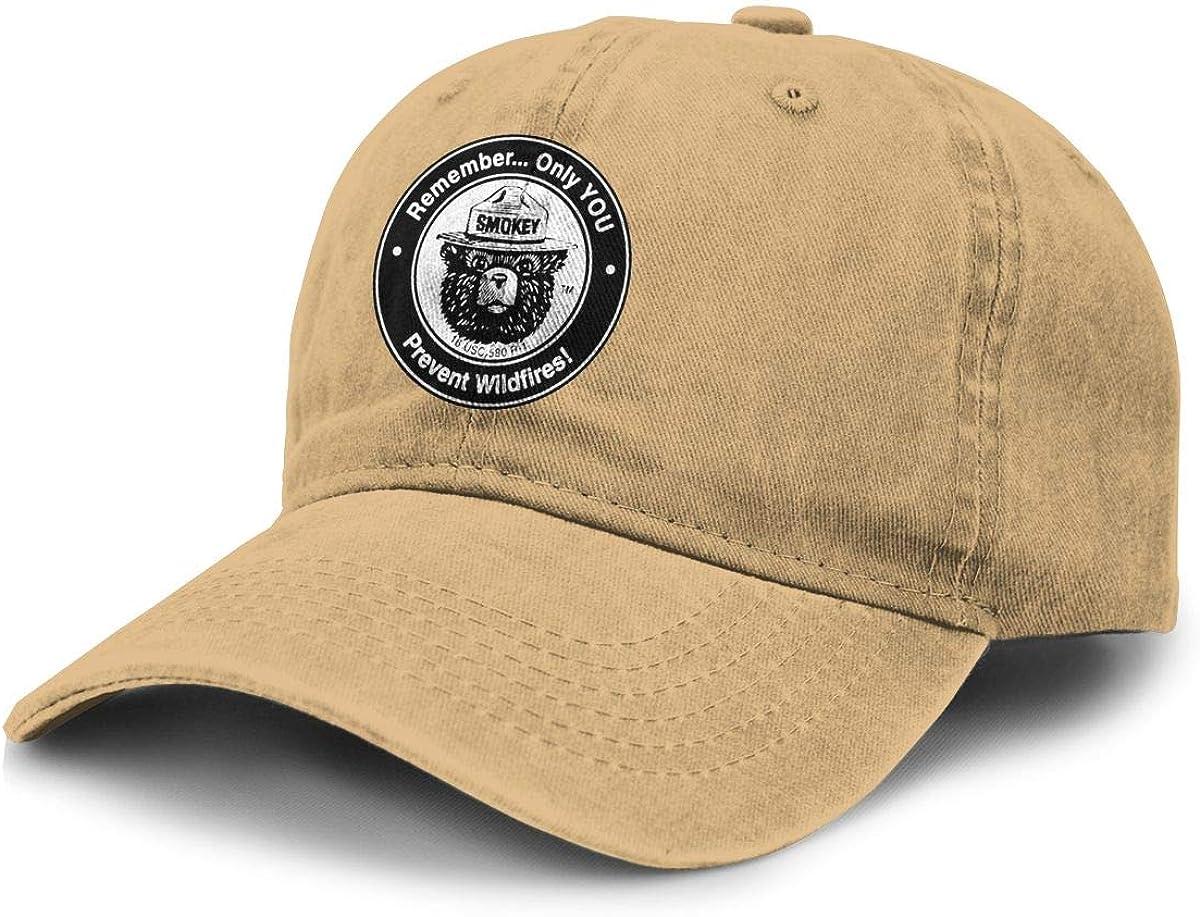 Alin-Z Bear Unisex excellence Adjustable Baseball Cowboy Denim Fixed price for sale Caps Hats Ha