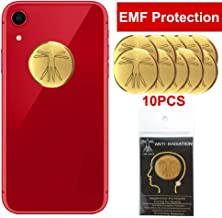 10Pcs - EMF Protection Cell Phone Sticker, Anti Radiation Protector Sticker, HUAGASION EMF Blocker for Mobile Phones, iPad, MacBook, Laptop and All Electronic Devices