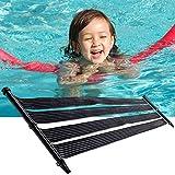 Nemaxx Calentador Solar SH3000 3 m - calefacción Solar para Piscina, calefacción Solar, Piscina climatizada, colector Solar para Piscina, Tratamiento de Agua Caliente