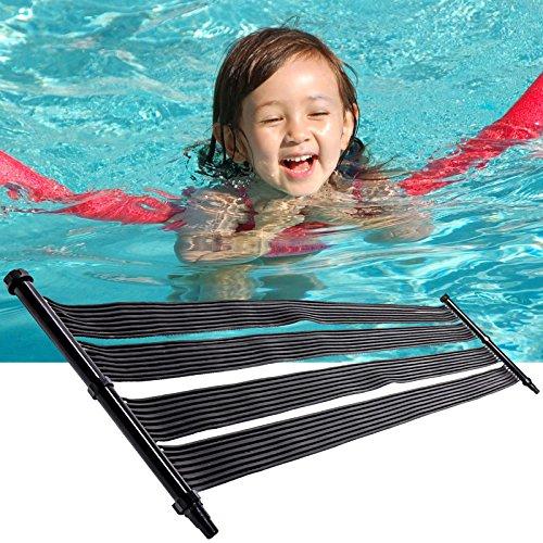 Nemaxx 1x SH6000 Solarheater 6 m - Solar-Poolheizung, Solarheizung, Schwimmbecken Heizmatte, Swimmingpool Sonnenkollektor, Warmwasseraufbereitung, Heizung für Pool