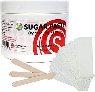 Sugaring Hair Removal Paste at Home Kit - (Strips, Applicator Sticks) Large350g (12oz.)