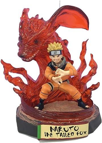 SONGDP Modèles Anime Anime Périphérique Modèle Naruto GK Whirlpool Naruto Scène De Couleur Décoration Sculpture Collection Abstraite Décoration Hommes Et Femmes Cadeau Souvenir 18CM Statues Anime