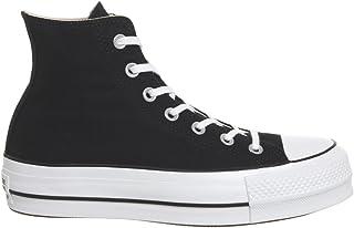 0718384eb2c8a Converse CTAS Lift Hi Black White
