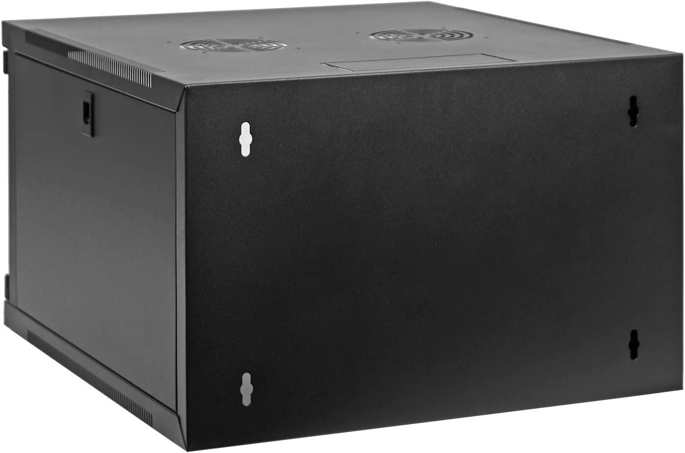 Aeons 6U Classic Wall Mount 19-inch IT Network Cabinet Enclosure Server Rack 20-inch Depth Glass Door Fully Assembled