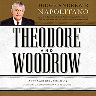 Theodore and Woodrow audiobook cover art