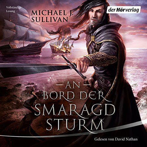 An Bord der Smaragdsturm audiobook cover art